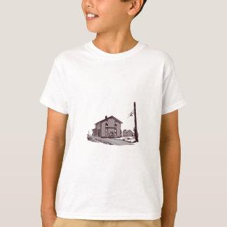 Depósito da estrada de ferro t-shirt