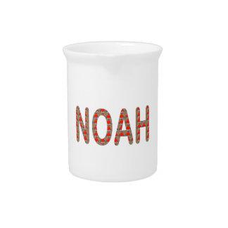 Derrame NOAH: Artistique dos presentes de NavinJOS Jarro De Bebida