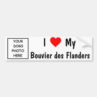 DES Flanders de Bouvier Adesivo Para Carro