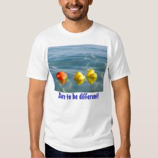 Desafio a ser diferente - tshirt