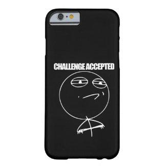Desafio aceitado capa barely there para iPhone 6