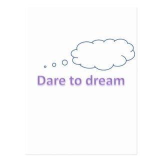desafio ao sonho cartão postal
