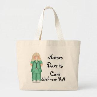 Desafio das enfermeiras ao cuidado bolsa para compra