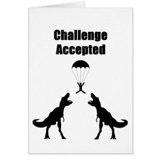 Desafio de TRex aceitado Cartão