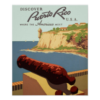 Descubra o impressão do poster das viagens vintage