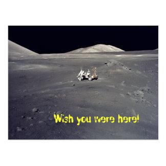 desejo de Apollo você estava aqui! Cartão Postal
