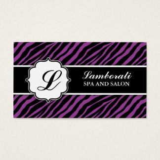 Desenhador de moda do cabeleireiro do impressão da cartão de visitas