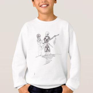 Desenho de caráter do vencedor em 10-10-10 t-shirt