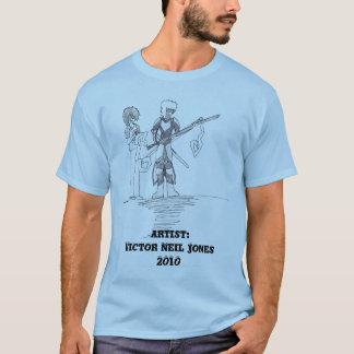 desenho de caráter pelo vencedor Neil Jones Camisetas