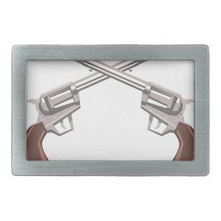 Desenho do revólver da pistola isolado em