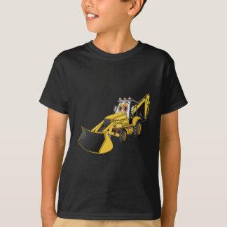 Desenhos animados amarelos do Backhoe Camiseta