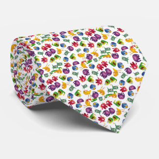 Desenhos animados bonitos coloridos do gravata
