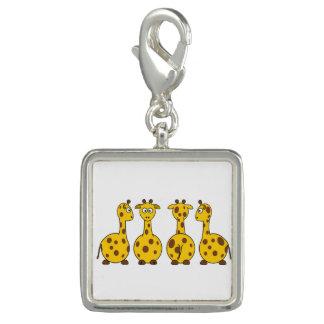 Desenhos animados bonitos do girafa photo charms