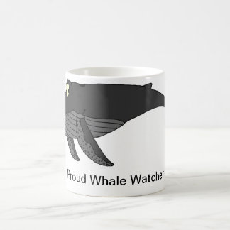 Desenhos animados da baleia de Humpback Caneca De Café