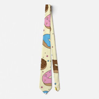 Desenhos animados das rosquinhas gravata