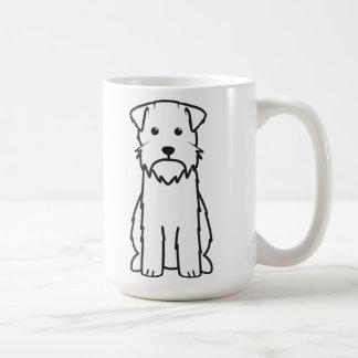 Desenhos animados do cão apontar Griffon Caneca De Café