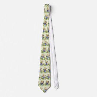 Desenhos animados do espantalho da queda gravata