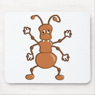 Desenhos animados engraçados bonitos da formiga mouse pad