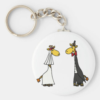 Desenhos animados engraçados do casamento dos chaveiro