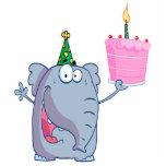 desenhos animados engraçados do elefante do feliz  escultura fotos