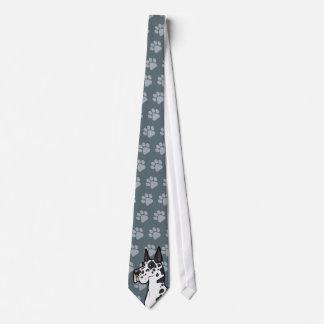 Desenhos animados great dane gravata