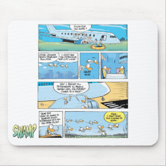 Desenhos animados Mousepad do vôo do pântano