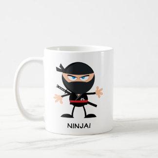 Desenhos animados personalizados Ninja Caneca De Café
