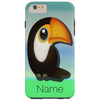 Desenhos animados Toucan Capas iPhone 6 Plus Tough