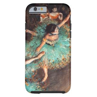 Desgaseifique o dançarino verde capa tough para iPhone 6