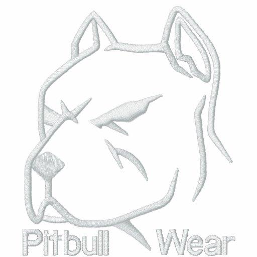 Desgaste de Pitbull Moletom Com Capuz