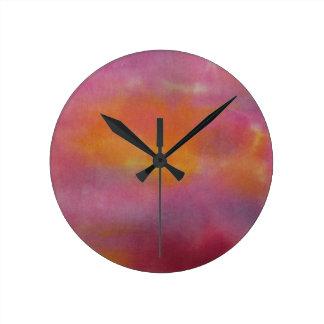 Design #4 da arte abstracta relógio redondo