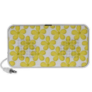 Design amarelo bonito de Daisey Caixinha De Som Portátil