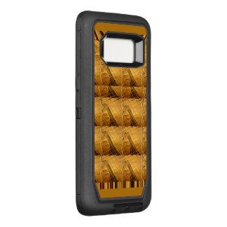 Design animal do safari bonito do girafa de África Capa OtterBox Defender Para Samsung Galaxy S8