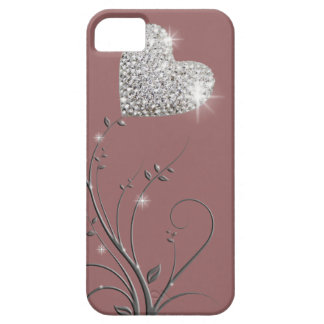Design bonito brilhante do coração capas para iPhone 5