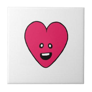 Design bonito do indicador da saúde do coração do azulejo quadrado pequeno