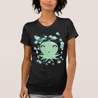 design bonito do polvo camiseta