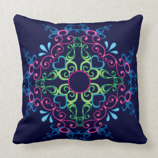 design-Categoria colorida um travesseiro decorativ