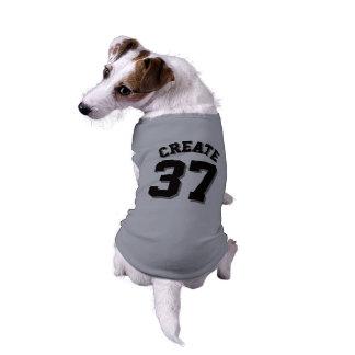 Design cinzento & preto do jérsei dos esportes do camisa sem mangas para cachorro