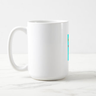 design coffee cup with colourful caneca