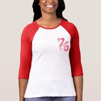 design customizável do t-shirt number-76