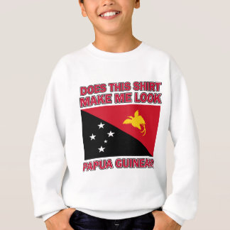 design da bandeira da Guiné de papua Camisetas
