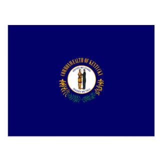 Design da bandeira do estado de Kentucky Cartão Postal