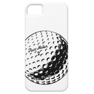 design da bola de golfe das capas de iphone