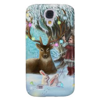 Design da caixa da galáxia S4 de Samsung pela arte Galaxy S4 Cover