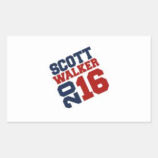Design da campanha do caminhante 2016 de Scott Adesivos Em Formato Retangulares