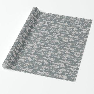 Design da camuflagem masculino papel de presente