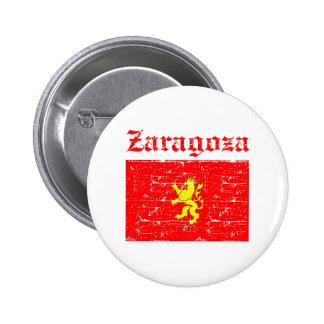 Design da cidade de Zaragoza Bóton Redondo 5.08cm