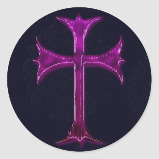 Design da cristandade adesivo