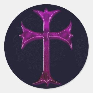 Design da cristandade adesivos