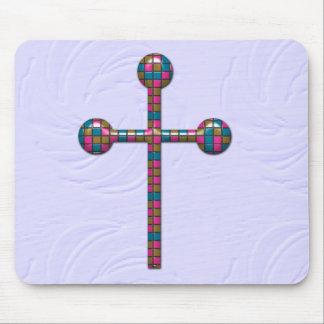 Design da cristandade mouse pads
